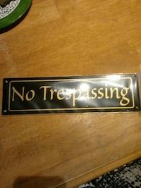 No Trespassing Sign Hagerstown, 21740