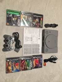 PlayStation console plus 6 games and controller  544 km