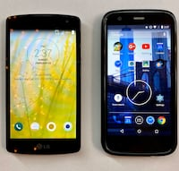 Smart cell phone bundle of 2 - Great deal!