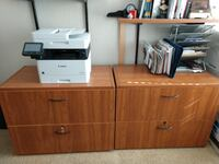 Two Lateral File Cabinets