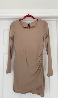 Revolve Bobi Nude Dress Size Medium