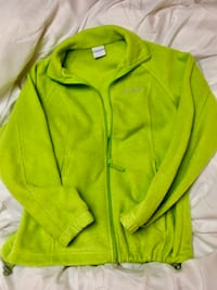 Columbia women's small size lime green jacket in excellent used condition.  Rarely worn Osceola, 46561