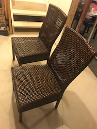 Crate & Barrel set of 4 chairs  Milton, L9T 7R9