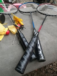 Rackets and sport items