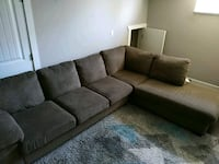 10x6 sectional couch Surrey, V3S 7B4