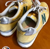 Paio di sneakers low-top new balance bianche e gialle Bologna, 40139
