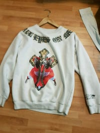 Tupac crewneck sweater