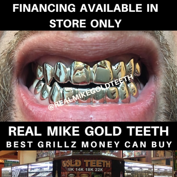 Custom made, Gold teeth ,Grillz, Jewelry