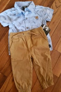 New 18months shirt and pant