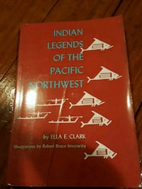 Indian Legends of the Pacific Northwest  Brewster, 10509