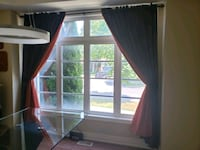Curtains with fixtures and hooks  Vaughan, L4J 0A3