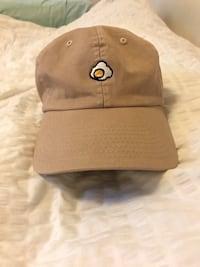 2020AVE New Fried Egg Patch Baseball Cap