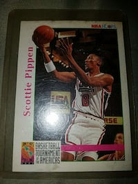 Scottie Pippen NBA Hoops card Suffolk, 23434