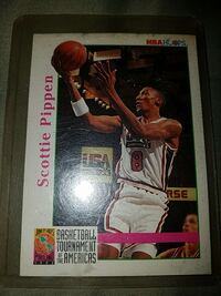 Scottie Pippen NBA Hoops card