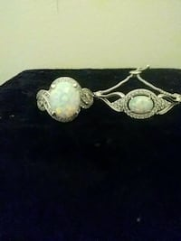 Women's opal ring and matching bracelet Stoughton, 02072