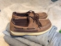 pair of brown boat shoes Warner Robins, 31093