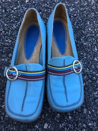 Indigo ... Pair of blue slip on shoes size 6..... $30 BRAND NEW  Charlottesville, 22901