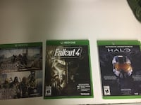 three Xbox One game cases St Catharines, L2N 3S5