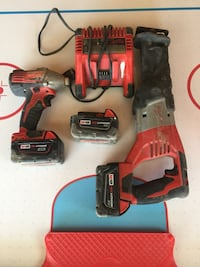 red and black cordless power drill Winnipeg, R3Y 1Y5
