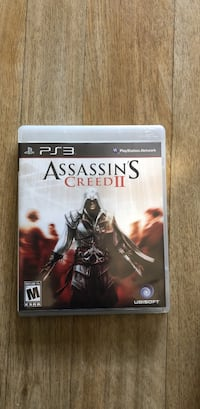 Assassin's Creed 3 PS3 game case
