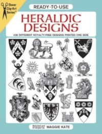 NEW - Ready-To-Use Heraldic Designs (Dover Clip Art Series) Adamstown, 17517