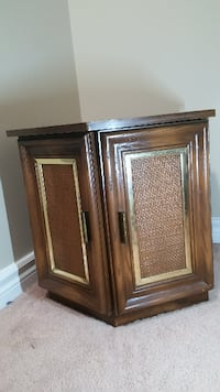brown wooden 2-door cabinet Barrie