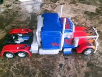 Optimus prime from the first movie.  Brantford, N3T 6M9