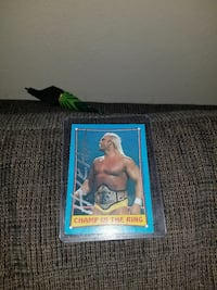 Hulk Hogan Sign Card Winnipeg, R2K 1P4