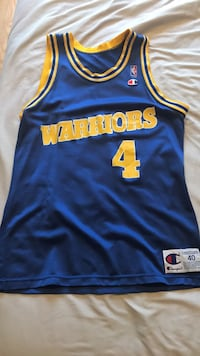 Vintage Chris Webber Warriors Jersey Washington, 20009