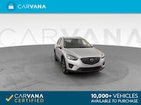 2016 Mazda CX5 suv Grand Touring Sport Utility 4D Silver Brentwood