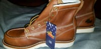 brown leather boots with box Amarillo, 79110