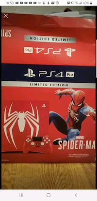 Play Station 4 Spiderman edition Fairfax, 22031