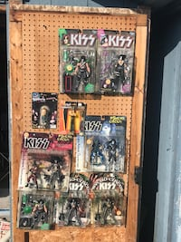 kiss Collectible toys in original Package $10 each