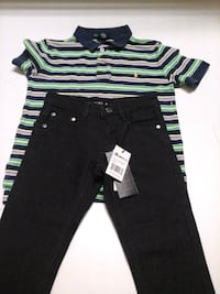Boys pant set. Polo shirt size:6 pants size:4 Tuscaloosa, 35401