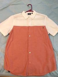 Vans short sleeve button down