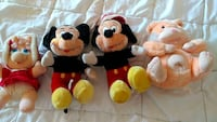 Very old stuffed toys