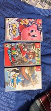 Nintendo switch games Surrey, V3R 7E7