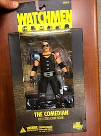 The Comedian action figure from The Watchmen Cambridge, 02142