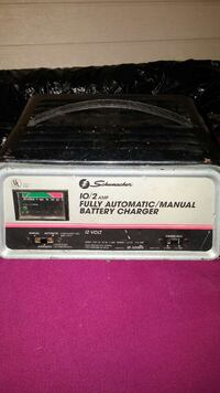 white, black and pink Schumacher fully automatic manual battery charger Surrey, V3V 2A3