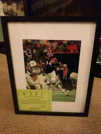PHIL SIMMS SIGNED 8X10 FRAMED W COA!! Manchester Township, 08759