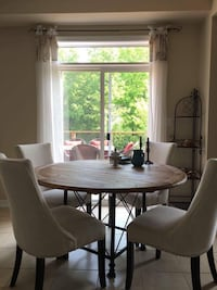 Solid Wood Kitchen Table (chairs not for sale) Mississauga, L4W 5N3