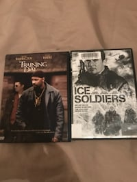 two The Walking Dead DVD cases WASHINGTON