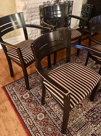 Four nice wooden chairs (delivery available $$) Oakville, L6H 1B9