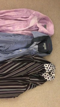 two black and white dress shirts Mc Lean, 22102