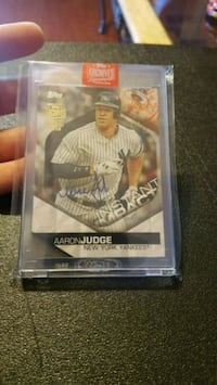 Aaron judge autographed 2018 Topps Archives 1 of 1  Jessup, 20794