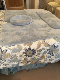 Country Blue Bathroom Rugs and Toilet Seat Covet Bangor, 04401