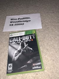 Call of Duty Black Ops 2 Xbox 360 game case Woodbridge, 22193
