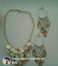 white and gold-colored beaded necklace screenshot Bronx, 10454