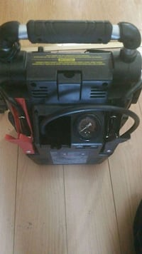 black and red portable generator Calgary, T2P