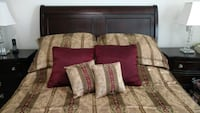 Croscill queen comforter & pillow set Ashburn, 20147